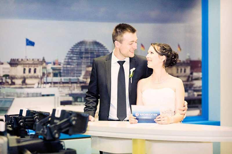 Katrin und Thomas – Hochzeit Fernsehwerft