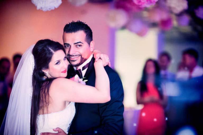 Nora und Sameh – Hochzeit Capitol Yard Golf Lounge