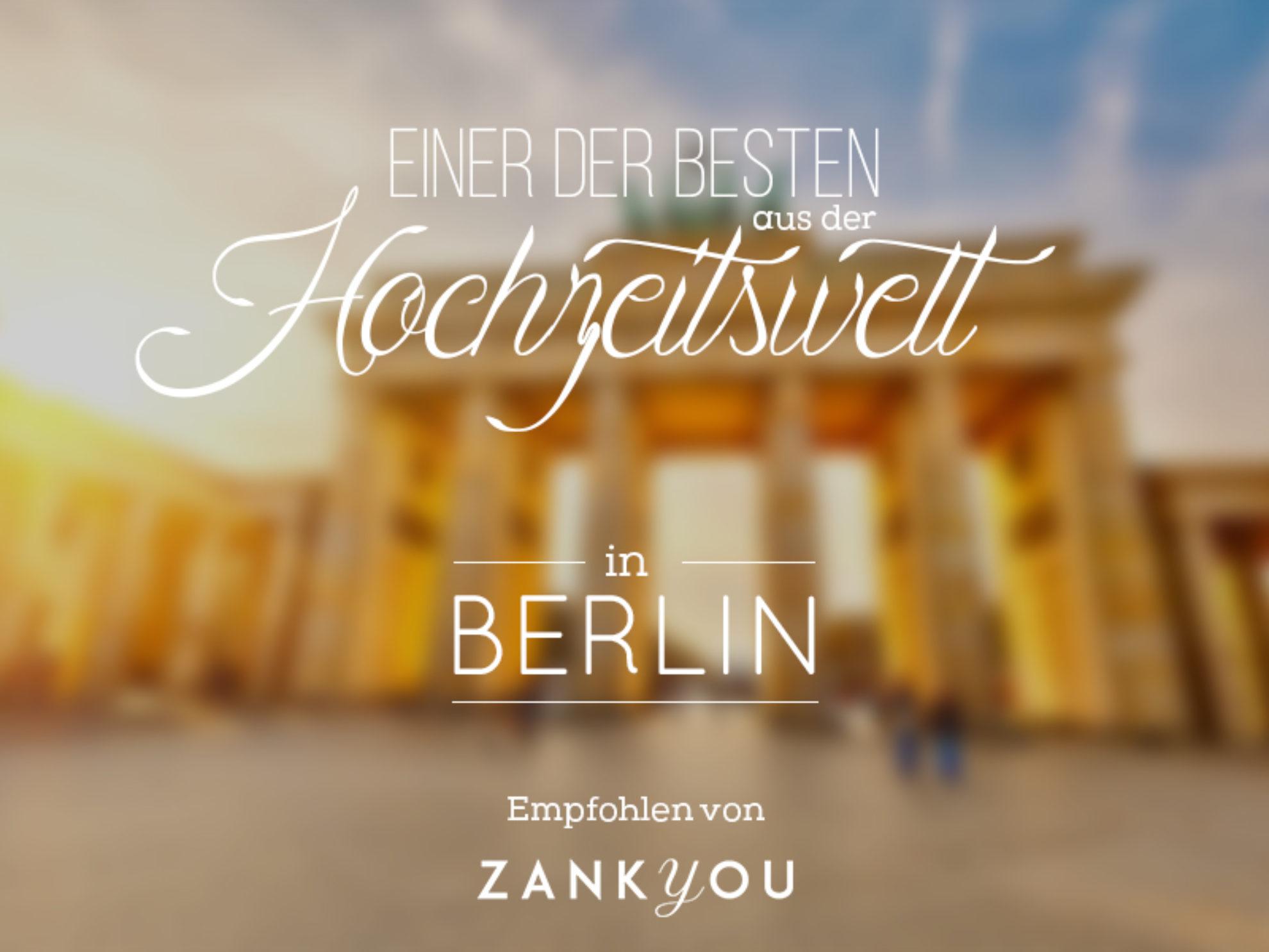 Die besten Hochzeitsfotografen für Berlin und Umgebung!