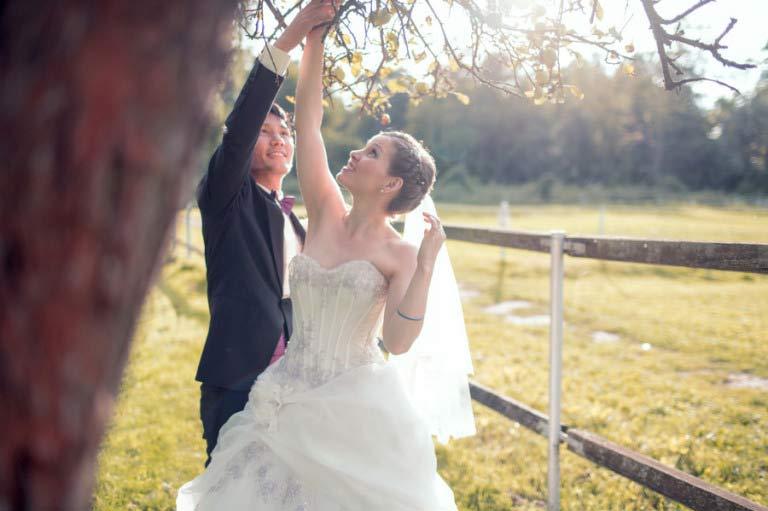 Nadine und Jun – Hochzeit Schloss Diedersdorf