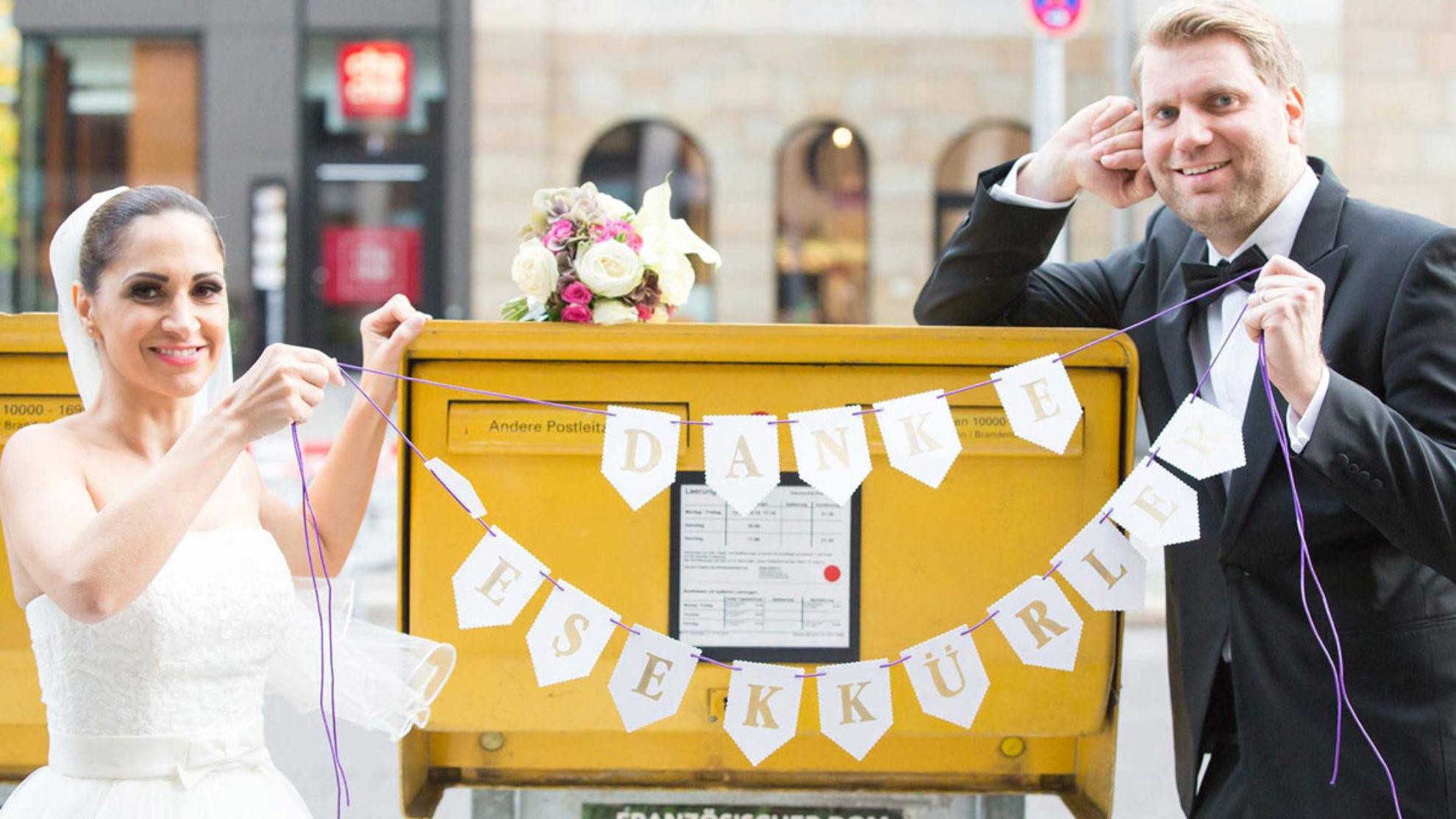 Hochzeitsfotos Accessoires