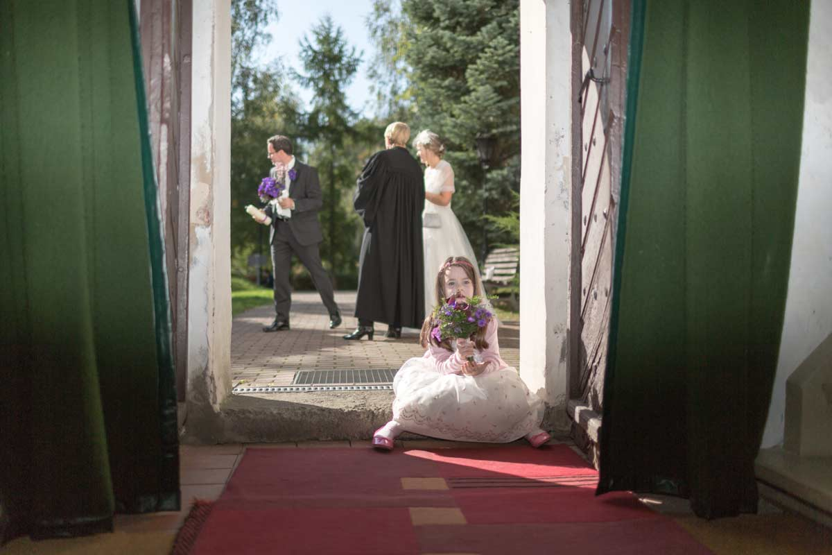 Hochzeitsfotos Kirche Schloss Diedersdorf