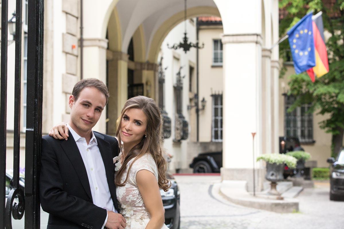 Snejana und David – Hochzeit Schlosshotel im Grunewald