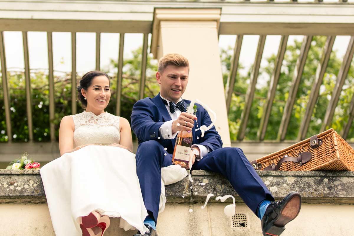 Romy und Denis – Hochzeit Schloss Glienicke