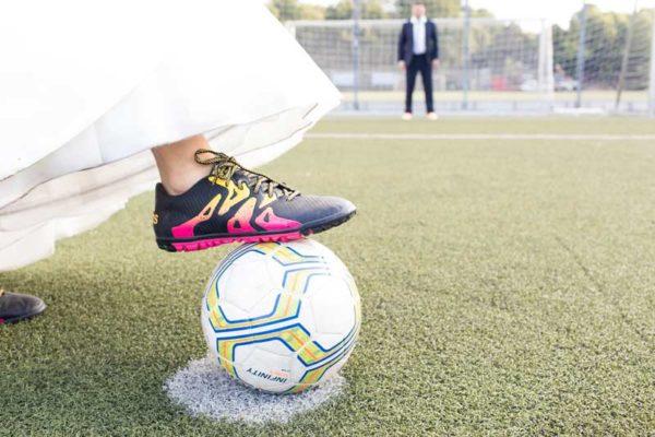 hochzeitsreportagen - Vicky und Sven - Hochzeit FC Viktoria 1889