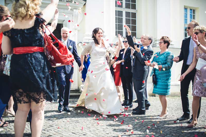 Hochzeitsfotos Schlosskirche Köpenick