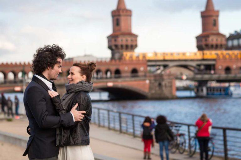 Hochzeiten an der Oberbaumbrücke