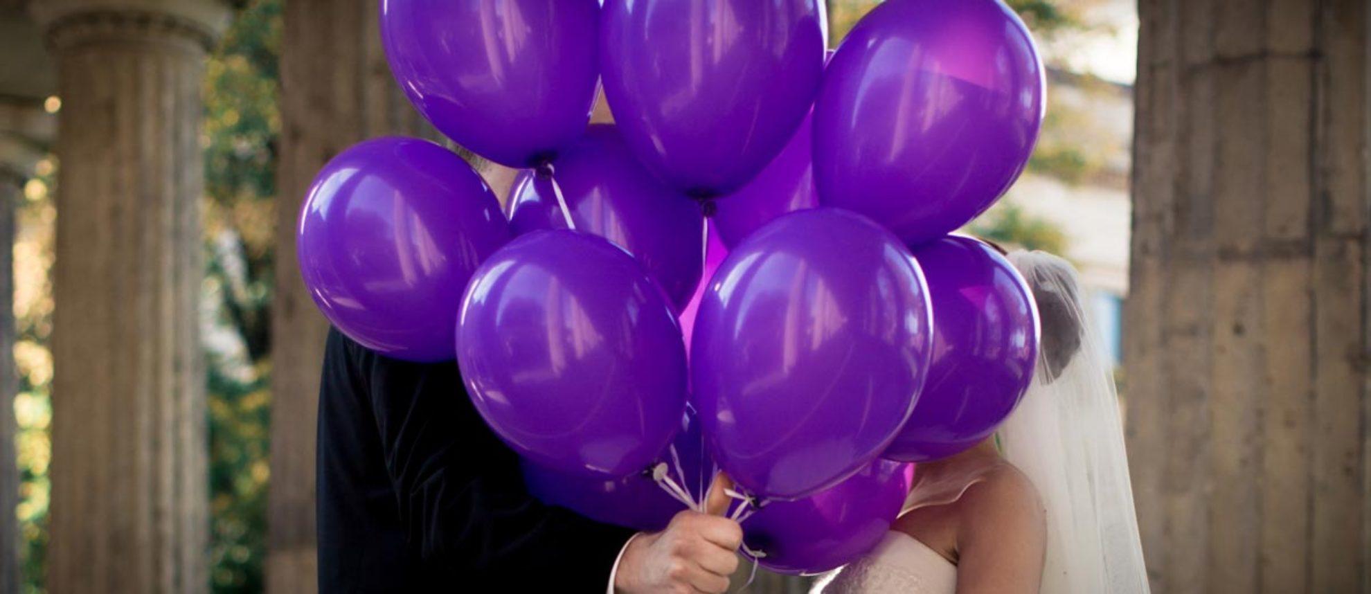 Luftballons Hochzeit – Heliumballons