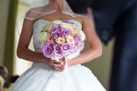 Brautstrauß Rosen – Tatiana und Julius