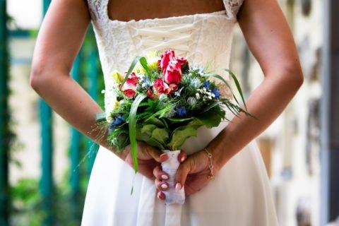 Brautstrauß Sommer – Romy und Denis