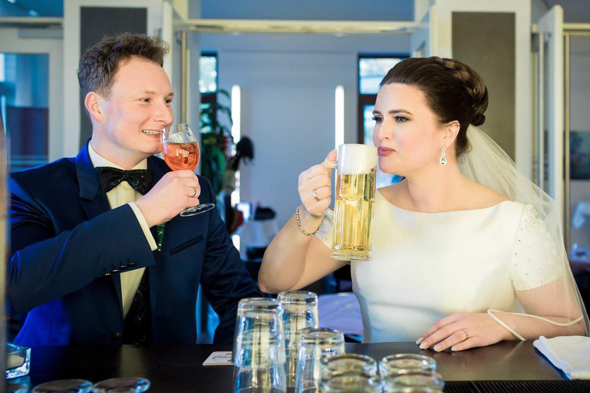 Alina und Christopher – Hochzeit SeePavillon am Tegeler See