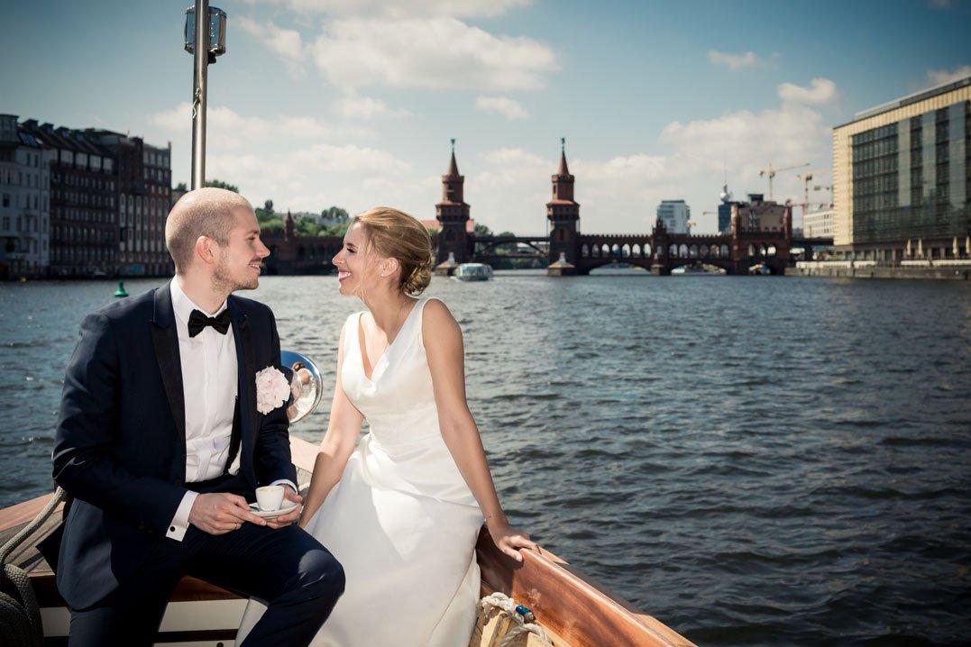 Hochzeit Berlin Boot FO