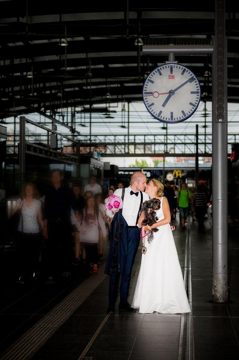 Hochzeit Berlin S Bahnhof Ostkreuz FO