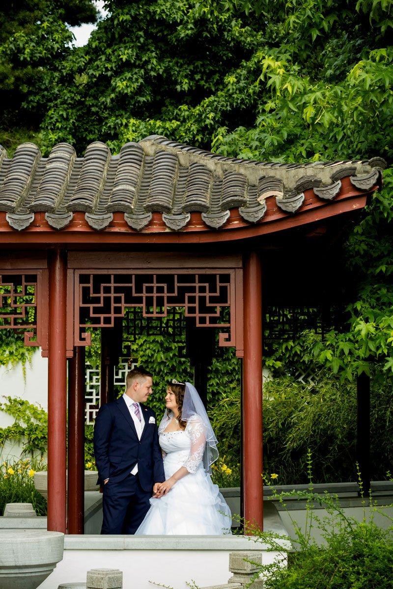 Hochzeit Gärten der Welt - Chinesischer Garten