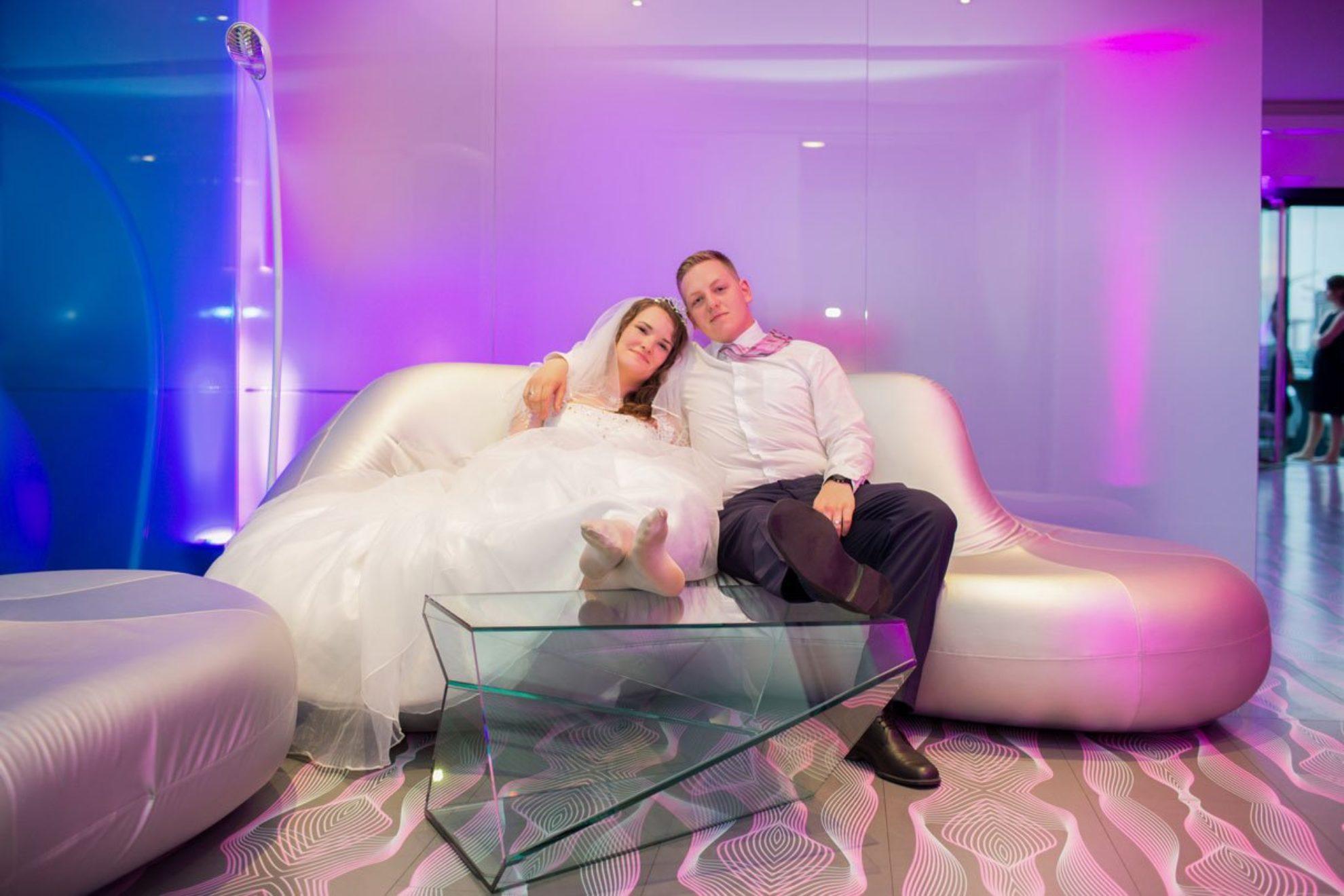Kim und Robert – Hochzeit NHow Hotel