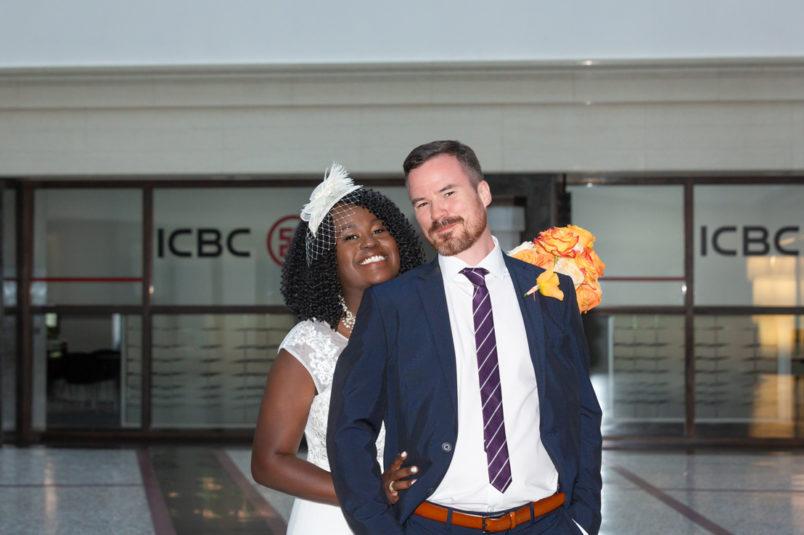hochzeitsreportagen - Vanessa und Dennis – Hochzeit Kollhoff Tower